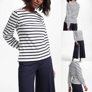 Boden | Lena Breton Long Sleeve Blouse 100% Cotton